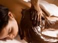Schokoladen-Körperbehandlung