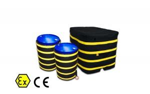 Atex Wärmedecken (Fässer, Zylinder, IBC-Behälter)
