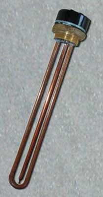 Heizkörper an der Kappe Typologie RT (Warmwasserbereiter)