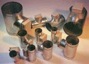 Luftheizbatterien für zylindrische Kanäle