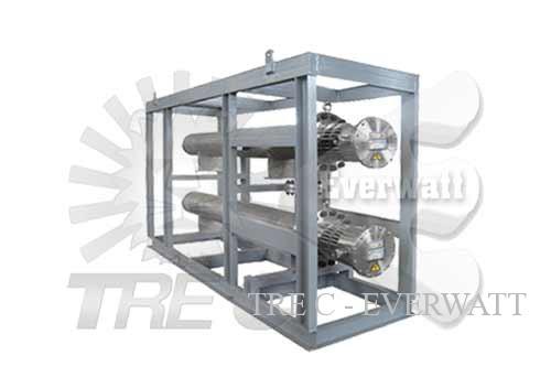 Skid zur Temperaturregelung Luft/Gas