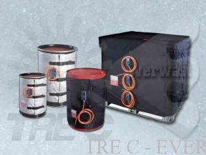 Thermische Decken Für Metall Und Kunststoff Sicherungen Und Ibc Behälter