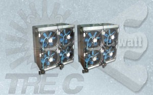 Elektrische Luftheizer (Elektrische Batterien Mit Ventilator)