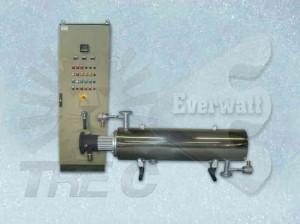 Luft / Gas-Wärmetauscher und Kontrollfelder